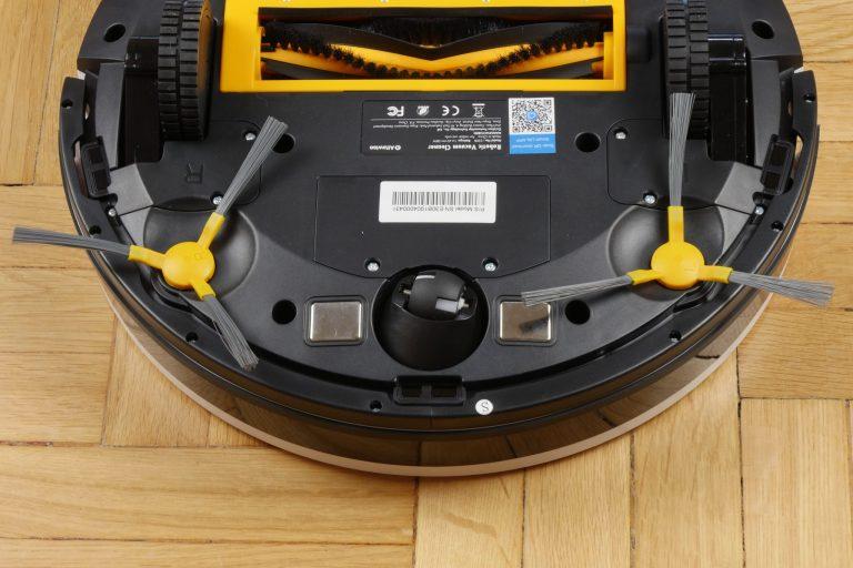 Alfawise V8S Pro robotporszívó teszt 4