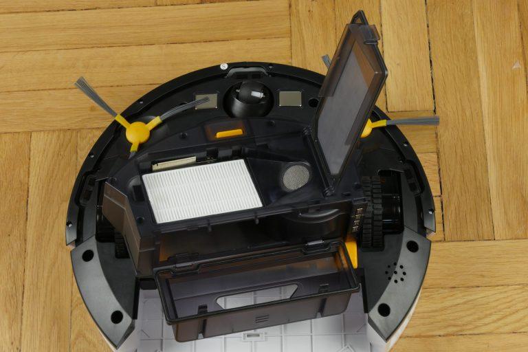 Alfawise V8S Pro robotporszívó teszt 7