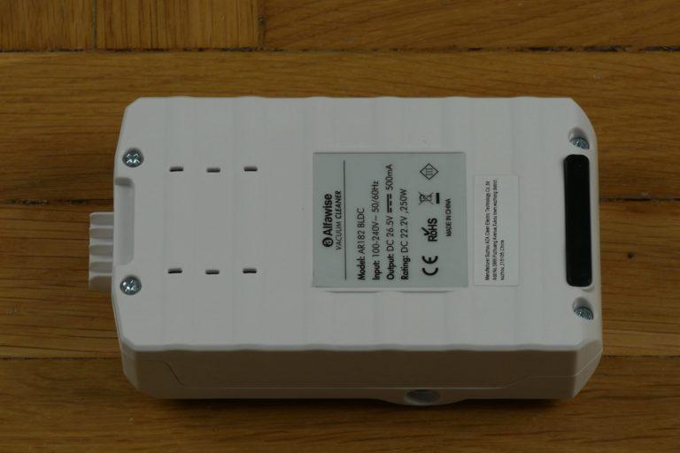Alfawise AR 182 állóporszívó teszt 12