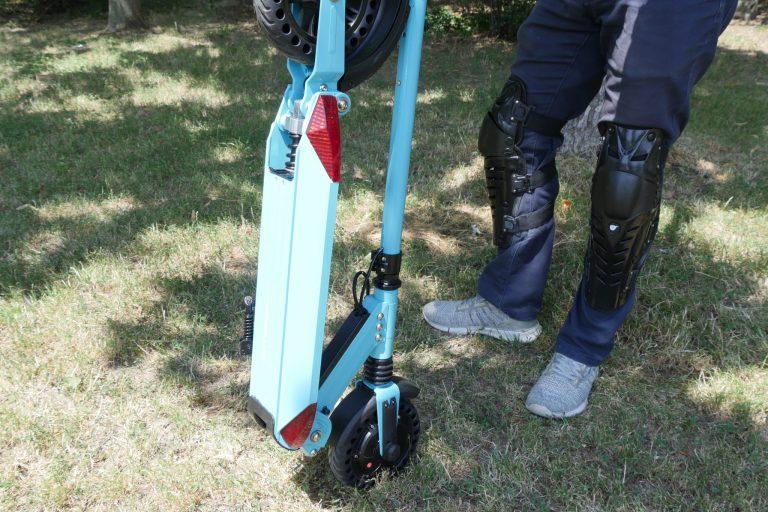 Kugoo S1 Pro elektromos roller teszt 3