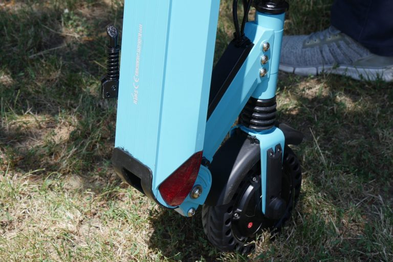 Kugoo S1 Pro elektromos roller teszt 4