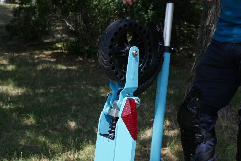 Kugoo S1 Pro elektromos roller teszt 5