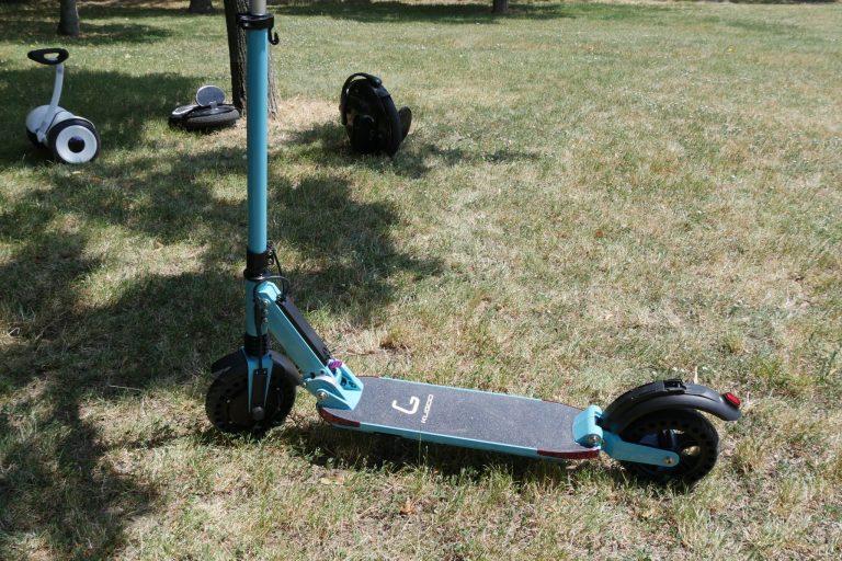 Kugoo S1 Pro elektromos roller teszt 8