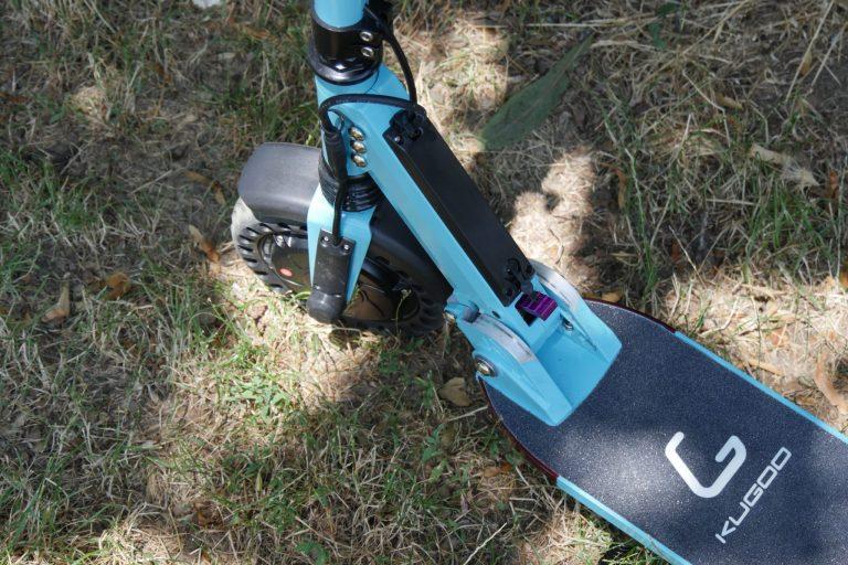 Kugoo S1 Pro elektromos roller teszt 11