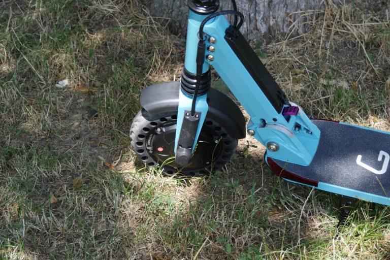 Kugoo S1 Pro elektromos roller teszt 12