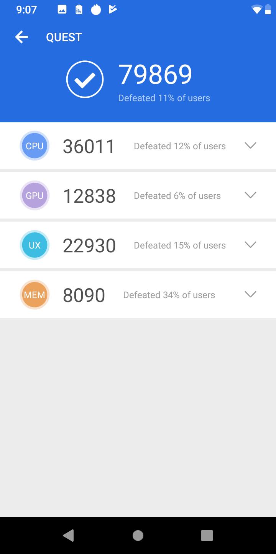 Cubot Quest okostelefon teszt 10