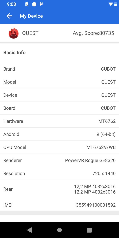 Cubot Quest okostelefon teszt 11