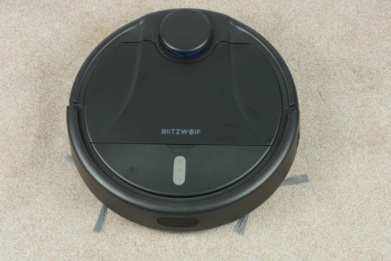 Blitzwolf BW-VC1 robotporszívó teszt 3