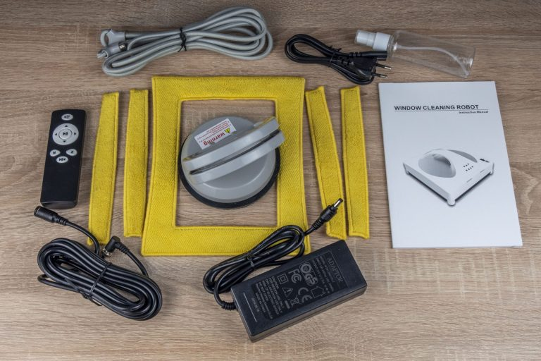 Alfawise WS-960 ablaktisztító robot teszt 3