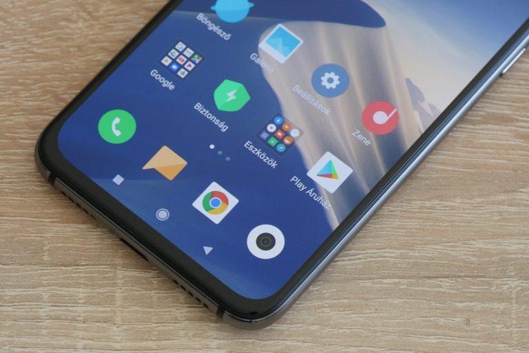 Xiaomi Mi 9 SE okostelefon teszt 9