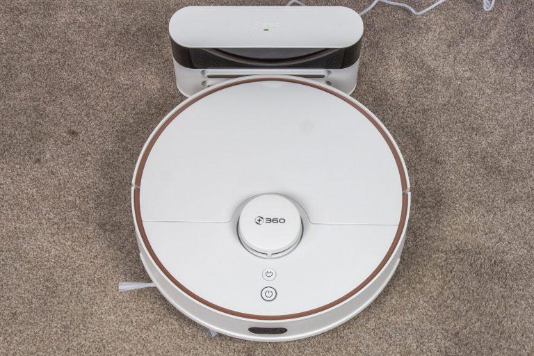360 S7 robotporszívó félpénzért 15
