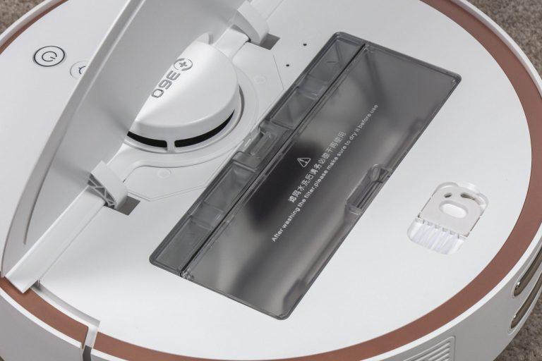 360 S7 robotporszívó félpénzért 11