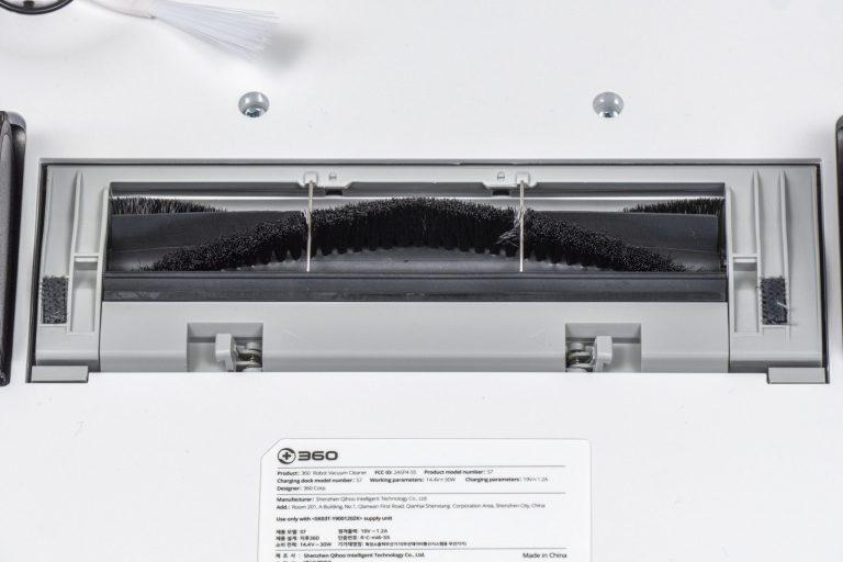 360 S7 robotporszívó félpénzért 5