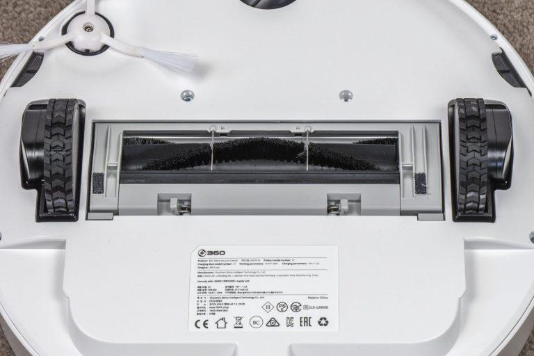 360 S7 robotporszívó teszt 4
