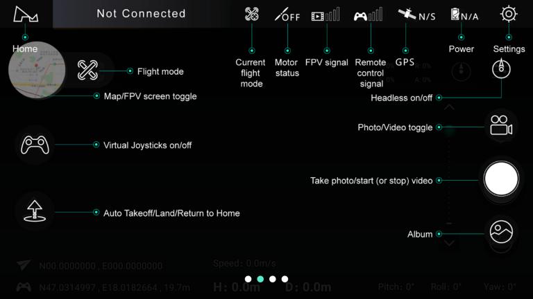 Hubsan Zino drón teszt 41
