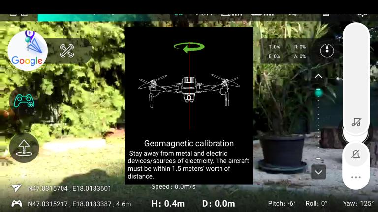 Hubsan Zino drón teszt 38