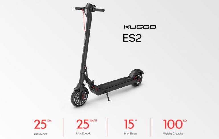 Új Kugoo ES 2 roller 7