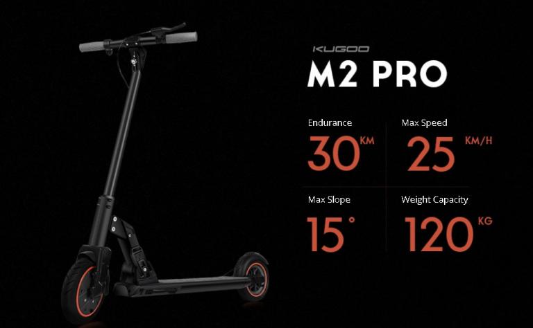 Új Kugoo M2 Pro roller 4