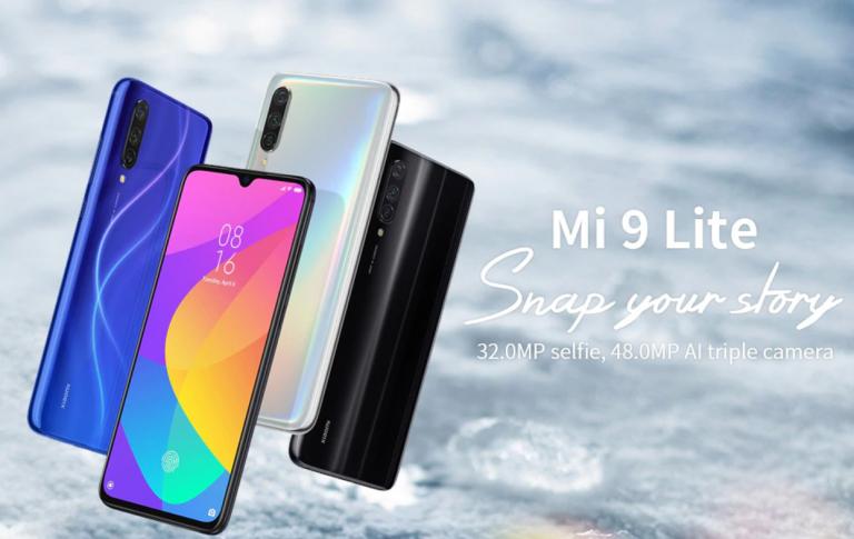 Xiaomi Mi 9 Lite okostelefon 6
