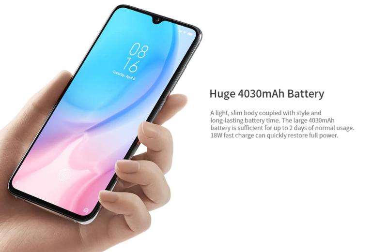 Xiaomi Mi 9 Lite okostelefon 5