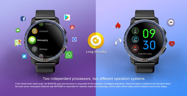 Kospet Optimus Pro vs. Ticwatch Pro okosórák 6