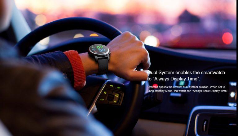 Kospet Optimus Pro vs. Ticwatch Pro okosórák 3