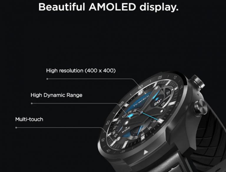 Kospet Optimus Pro vs. Ticwatch Pro okosórák 9