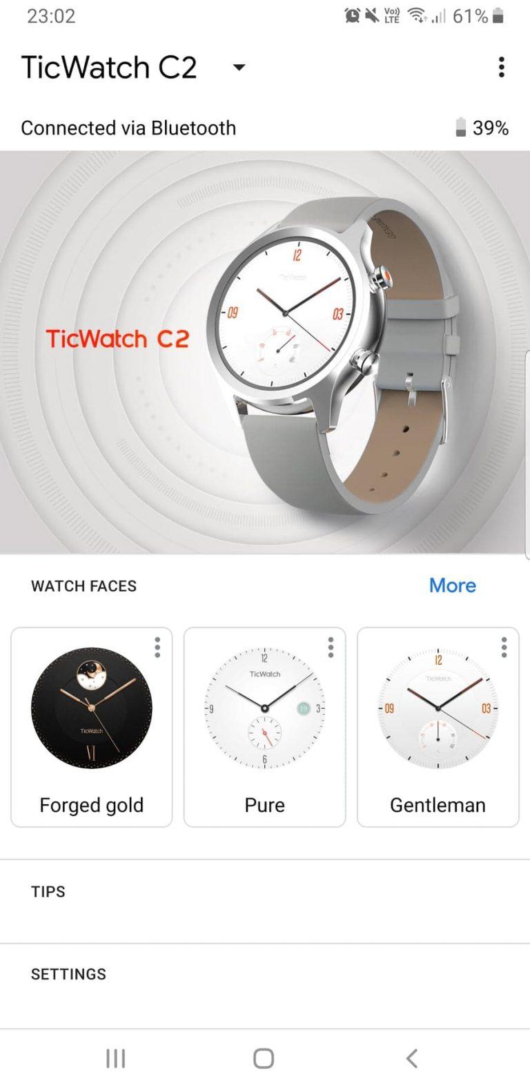 Ticwatch C2 okosóra teszt 24