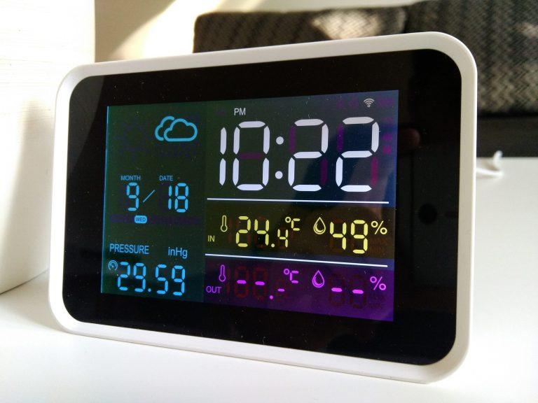 YuiHome időjárás állomás teszt 9