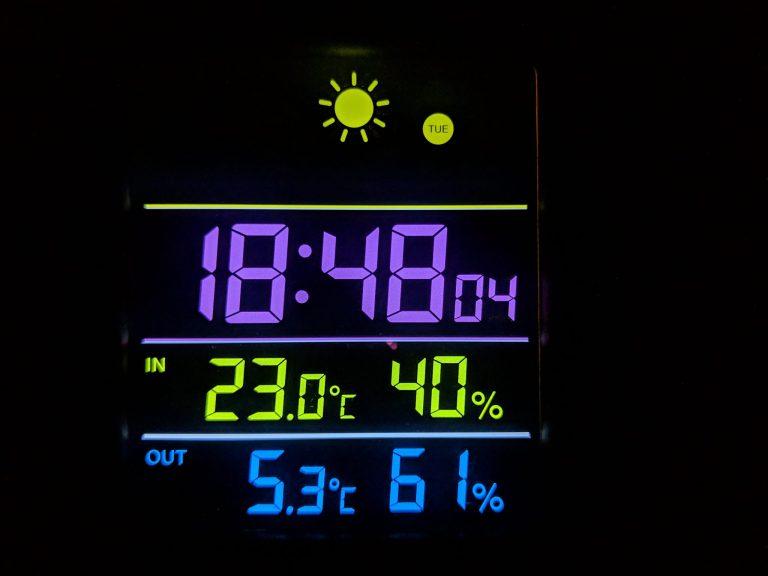DIGOO DG-THS02 időjárás állomás teszt 9