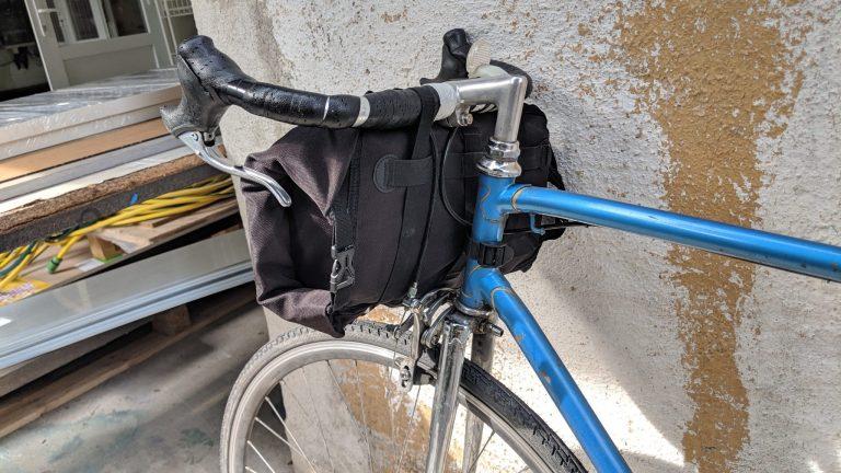 SAHOO 900D biciklis kormánytáska teszt 6