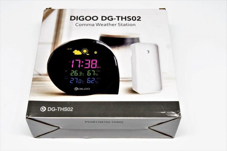 DIGOO DG-THS02 időjárás állomás teszt 5