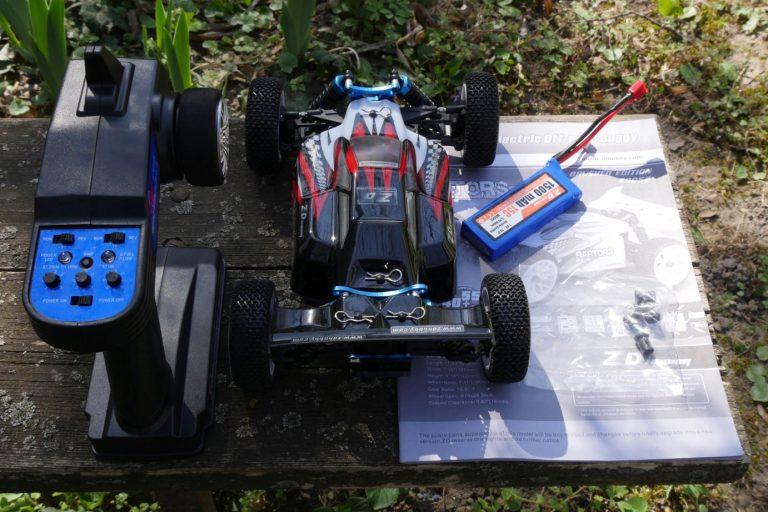 ZD Racing Raptor BX-16 RC autó teszt 2