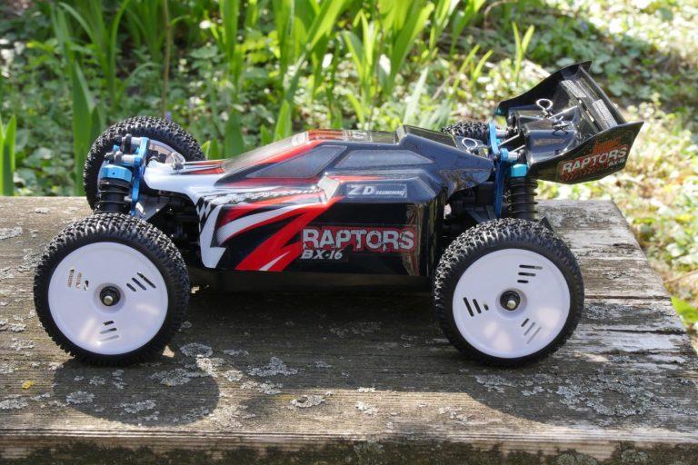 ZD Racing Raptor BX-16 RC autó teszt 21