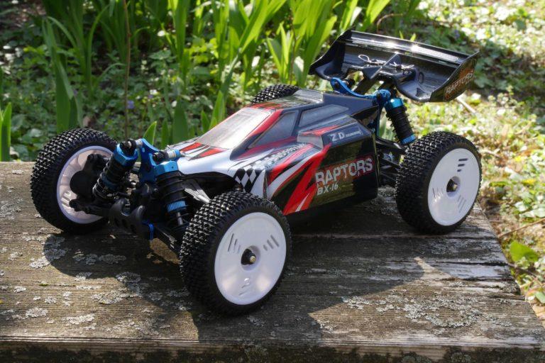 ZD Racing Raptor BX-16 RC autó teszt 20