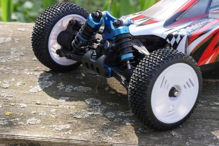 ZD Racing Raptor BX-16 RC autó teszt 19