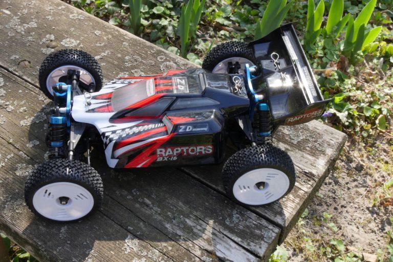ZD Racing Raptor BX-16 RC autó teszt 17