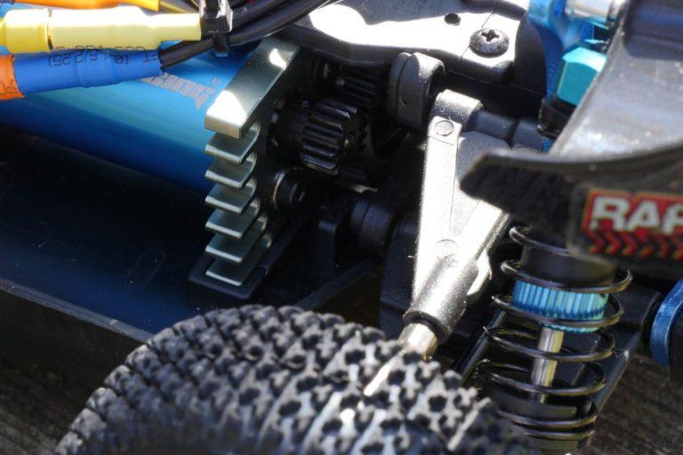 ZD Racing Raptor BX-16 RC autó teszt 10