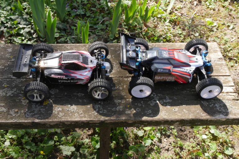 ZD Racing Raptor BX-16 RC autó teszt 7