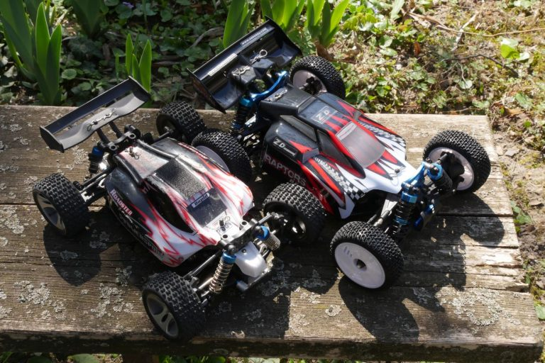 ZD Racing Raptor BX-16 RC autó teszt 6