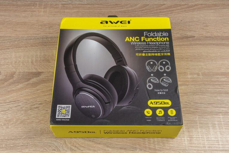 Awei A950BL Bluetooth-os fejhallgató teszt 2
