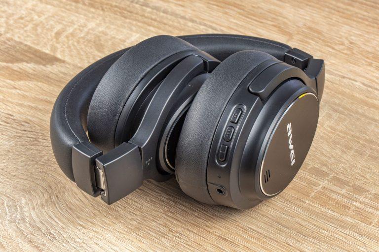 Awei A950BL Bluetooth-os fejhallgató teszt 7