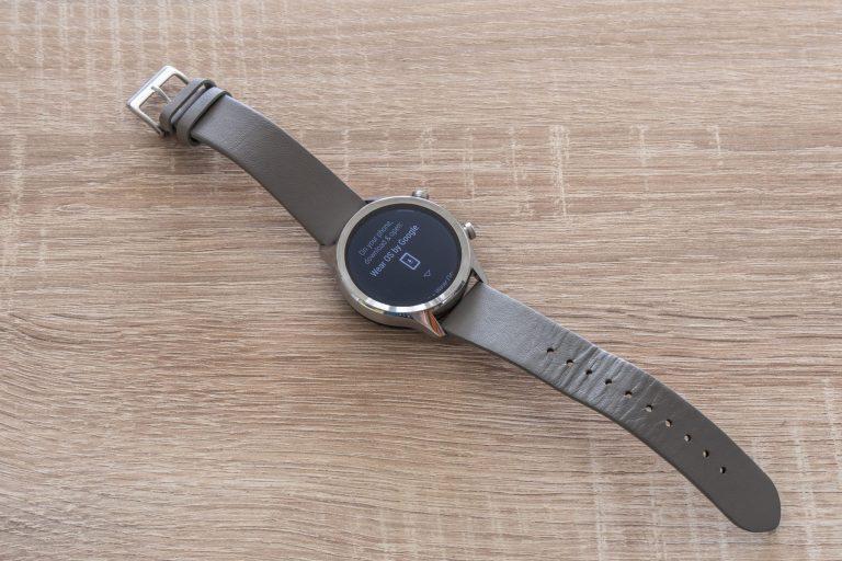 Ticwatch C2 okosóra teszt 5