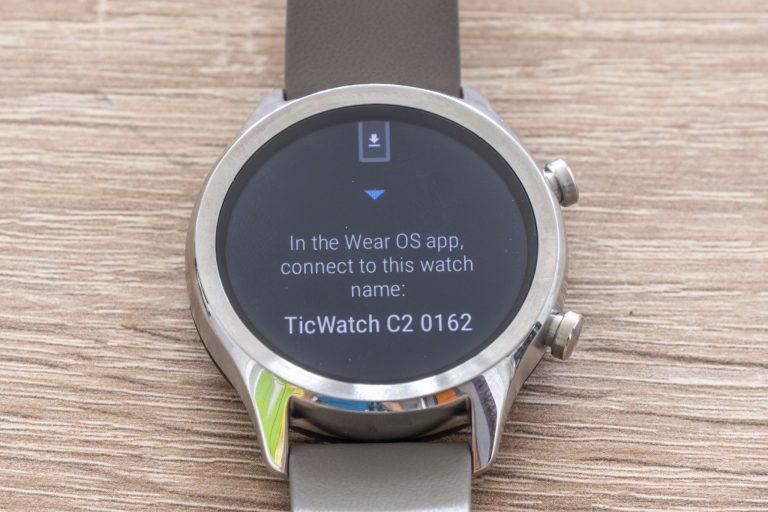 Ticwatch C2 okosóra teszt 9