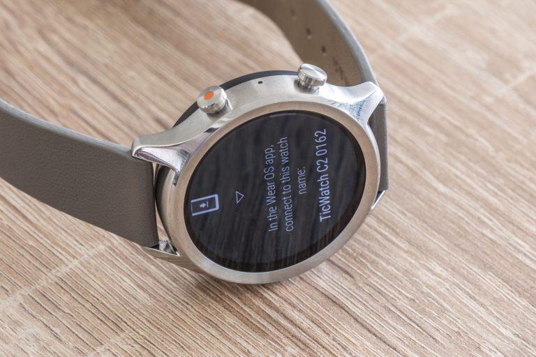 Ticwatch C2 okosóra teszt 8