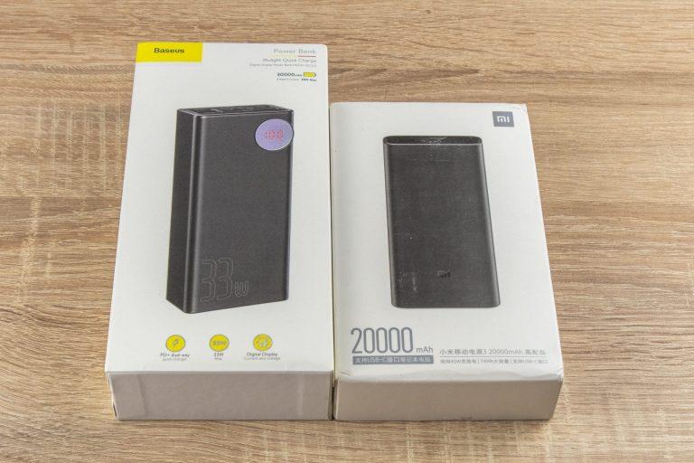 20 Ah-s Xiaomi és 30 Ah-s Baseus powerbankok tesztje 13