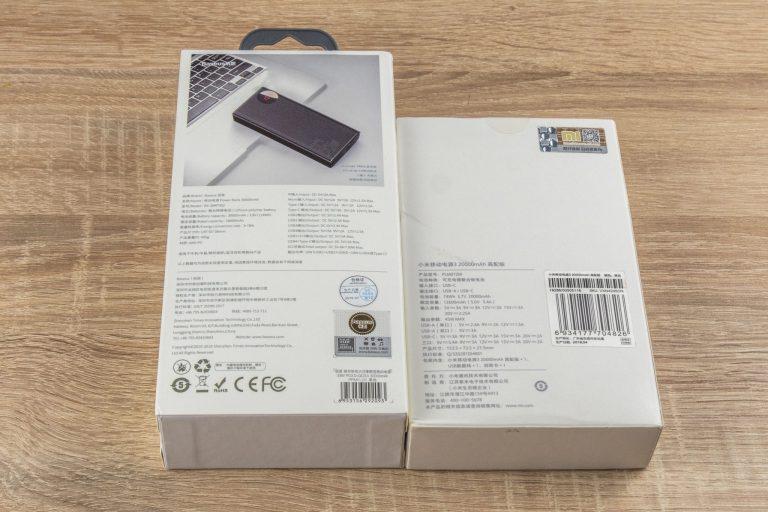 20 Ah-s Xiaomi és 30 Ah-s Baseus powerbankok tesztje 12