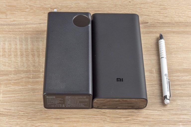 20 Ah-s Xiaomi és 30 Ah-s Baseus powerbankok tesztje 10