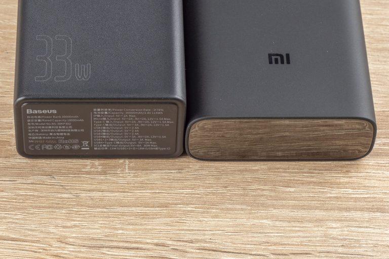 20 Ah-s Xiaomi és 30 Ah-s Baseus powerbankok tesztje 3