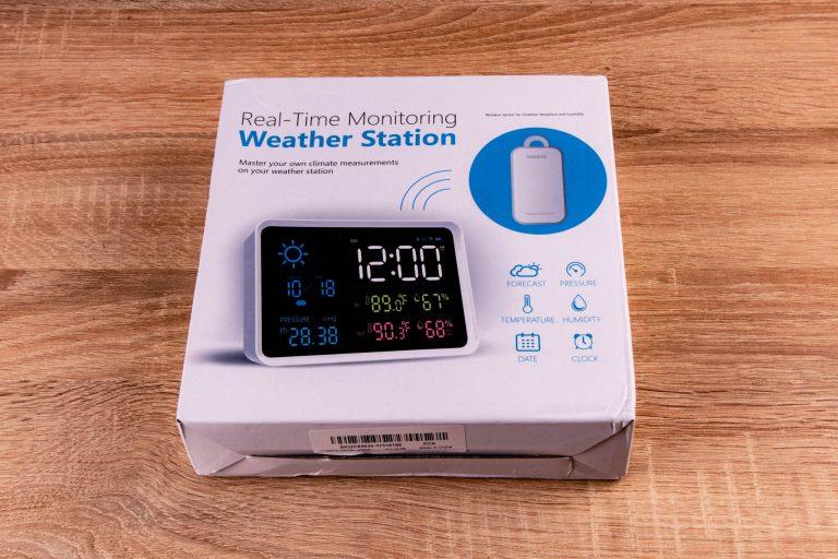 YuiHome időjárás állomás teszt 2